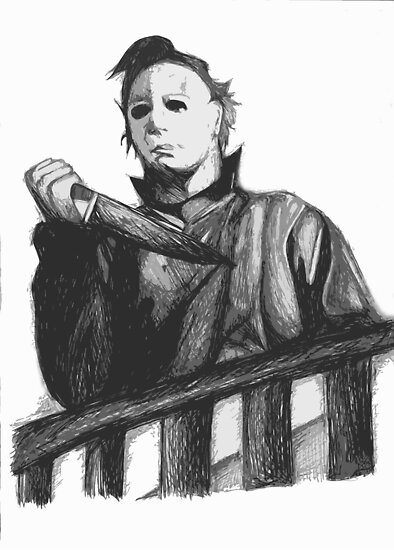 Michael myers by Hannah Clark