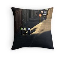Stop, Police. Throw Pillow