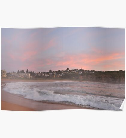 Morning Mist - Mona Vale Beach - The HDR Series Poster