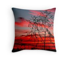 Templestowe Sunset Throw Pillow