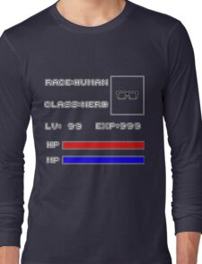 RolePlay Nerd Stats Long Sleeve T-Shirt