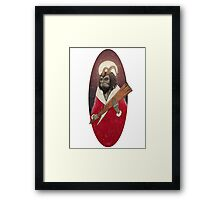 long live Krampus! Framed Print