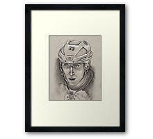 Zdeno Chara - Boston Bruins Hockey Portrait Framed Print