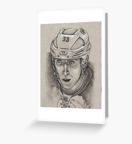 Zdeno Chara - Boston Bruins Hockey Portrait Greeting Card