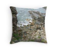 Coastline near Tathra, NSW, Australia Throw Pillow