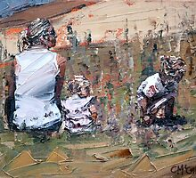 Beachside III by Claire McCall