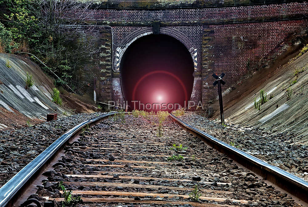 """""""Light at The End of The Tunnel"""" by Phil Thomson IPA"""