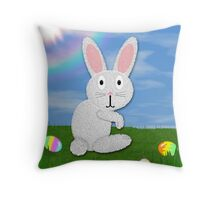 Happy Easter Card #1 Throw Pillow