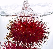 Rambutan couple by Alexander Gitlits