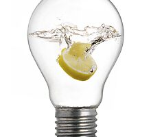 Lemon Bulb by Flying Funk