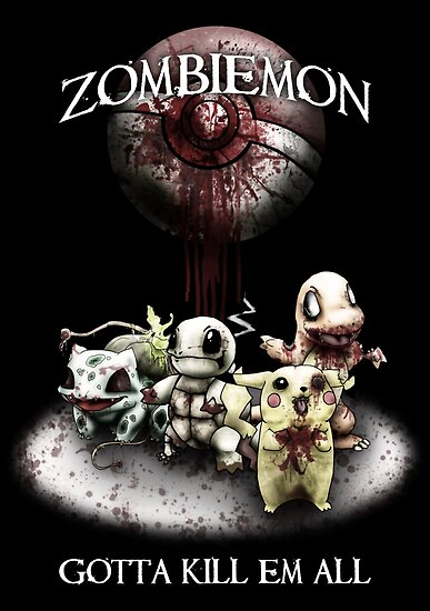 Zombiemon: Gotta Kill em All by RPGesus