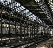 Train Shed by Richard Shepherd