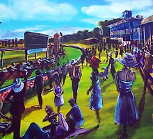 The Ballarat Cup - artist Bob Gammage by tola
