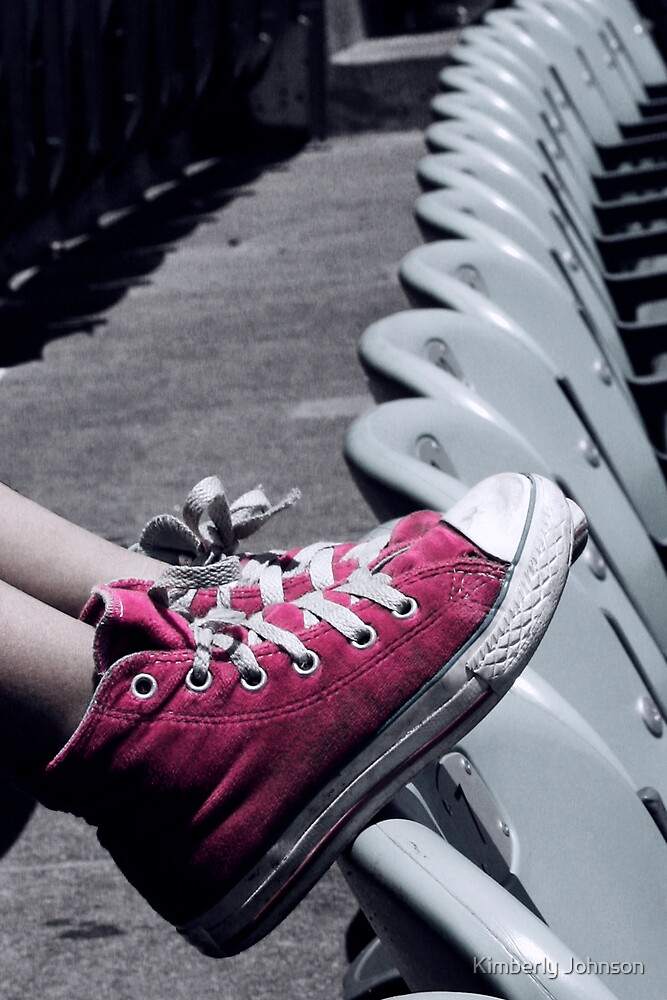 Waiting for the Game to Start by Kimberly Johnson