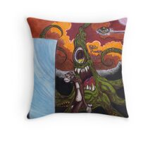 The Dawn of Man Throw Pillow