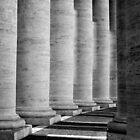 Columns of St Peter's by Tiffany Dryburgh