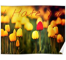 What Lovely Flowers Poster