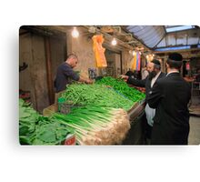 Machaneh Yehuda Market Canvas Print