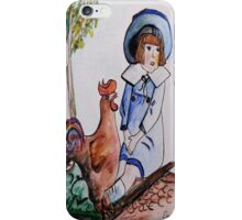 Rooster Breath iPhone Case/Skin