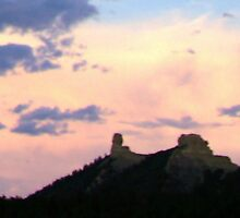 Chimney Rock by Tayler McKee