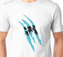 Rush Claw Mark (Blue) Unisex T-Shirt