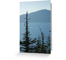 Crater Lake 2 Greeting Card
