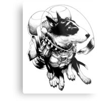 Jetpack Dog | Curtiss Metal Print