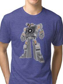 Robot DJ Tri-blend T-Shirt