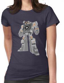 Robot DJ Womens Fitted T-Shirt