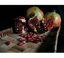 Pomegranates n.1 Photographic Print