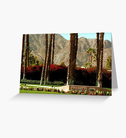 Palmer Presidential Golf Course  Greeting Card
