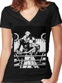 Lovers & Ice Women's Fitted V-Neck T-Shirt