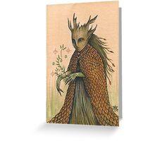 Wood Wife (card) Greeting Card