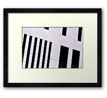 Abstract architecture 2 Framed Print