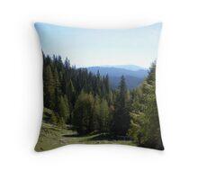 View from Debela Pek, Slovenia Throw Pillow