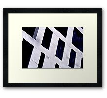 Abstract architecture 3 Framed Print