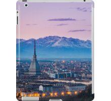Turin (Torino), twilight panorama iPad Case/Skin