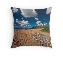 Rhosneigr Beach Throw Pillow