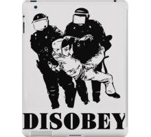 Disobey Police iPad Case/Skin