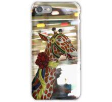 Giraffe on the Carousel iPhone Case/Skin