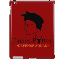 James Potter Defense Squad iPad Case/Skin