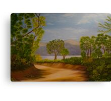 paisagem III Canvas Print