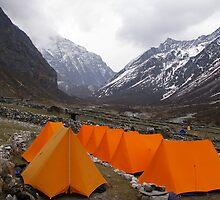 Campsite by Kensai