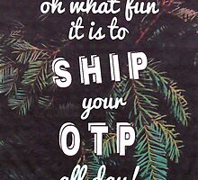 Oh What Fun it is To Ship by vwrites