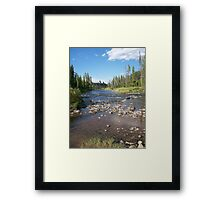 Colorado Skies Framed Print