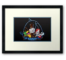 Buckle Your Pants! Framed Print