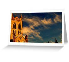 Buckfast Abbey Greeting Card