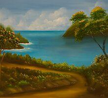 paisagem IV by Leda Carniel Benin