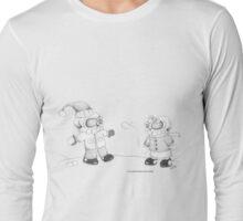 Snow Skellies Long Sleeve T-Shirt