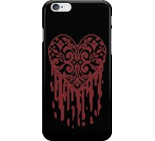 Bleeding Tiled Heart iPhone Case/Skin